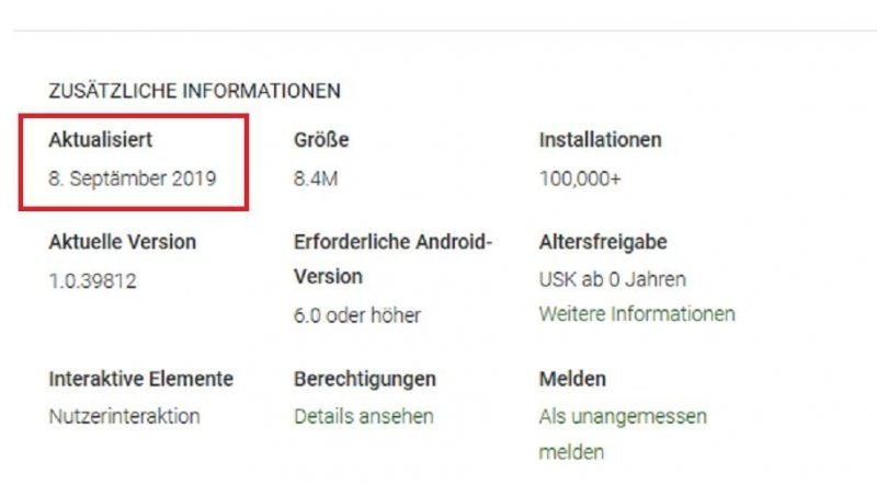 Remember remember, the 8th of Septämber. Google ganz vorn im Localization Game. #playstore